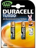 Элемент питания Duracell MN2400 АAA Turbo